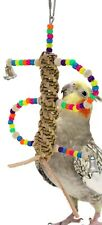 901 SWIRL BIRD TOY parrot cage toys cages cockatiel conure toys parakeet finch