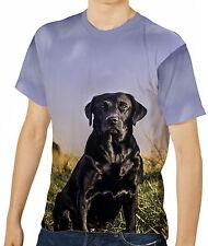 Labrador-Hund Freund anzeigen Herren T-Shirt Tee Gr. S M L XL 2XL 3XL aao40759
