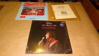 Religious Jesus lot of 3 Vinyl Record LP Albums Elvis He Touched Me + Promo etc