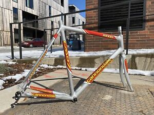 58cm Cannondale R1000 CAAD 7 Aluminum Road Frame & Slice Ultra Carbon Fork