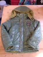 ZY Training Winterjacke Jacke Warm Gefüttert Gr 116 Grün Wie Neu