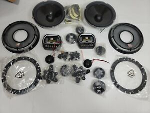 """JBL GTO608C6-1/2"""" 2-Way Grand Touring Series Component Car Speakers System"""