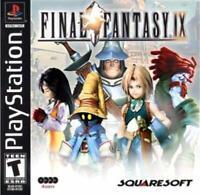 Final Fantasy IX 9 Playstation 1 Game PS1 Used