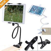Gooseneck Arm 360 Bed Desk Lazy Car Stand Tablet Holder Mount For Ipad NEW