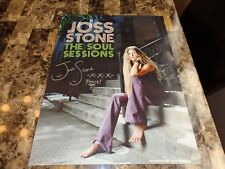 Joss Stone Rare Authentic Signed Autographed Promo Poster The Soul Sessions COA