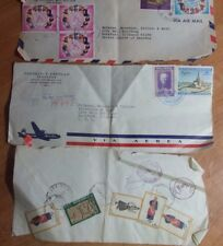 Lot Of 3 Covers 1960-70'S Dominican Republic,Greece, And Phillipines