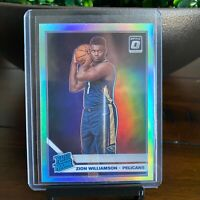 2019-20 Donruss Optic ZION WILLIAMSON Holo Prizm Silver Rated Rookie GREAT