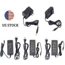 AC DC Power Supply Adapter Transformer 12V 1A 2A 3A 5A 6A 8A US Plug LED Strip