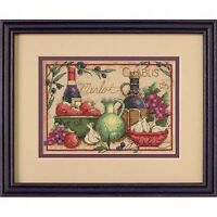 Dimensions - Mini Counted Cross Stitch Kit - Mediterranean Flavours - D65061