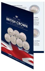 1953-81 British Commemorative Crown Collection