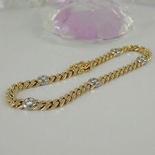 Diamanten-Armbänder aus mehrfarbigem Gold für Damen