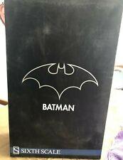 "SIDESHOW DC COMICS BATMAN THE DARD KNOGHT 1/6 SCALE 12"" FIGURE"