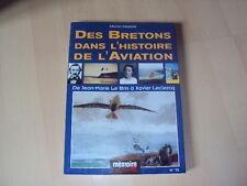 livre DES BRETONS DANS L'HISTOIRE DE L'AVIATION