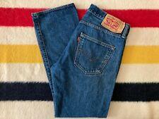 Levis 501 W 33 L 30 Blue Jeans
