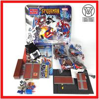 Spider-Man vs Venom Marvel collection Volume 1 Building Toy Set Mega Bloks 1931