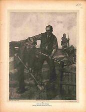 Terrassier Tombeau Feldgrauen Affiche de Guerre Dessin de Lucien Jonas 1916 WWI