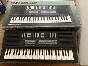 YAMAHA Portasound PSS-470 Electronic Keyboard With FM Synthesizer