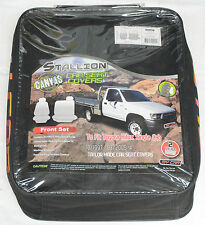 FULL CAR PACK WATERPROOF CANVAS CAR SEAT COVERS TOYOTA HILUX SINGLE CAB 97-05