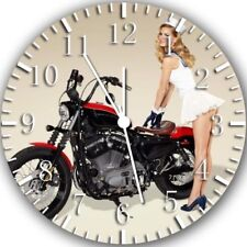 American Motorcycle Frameless Borderless Wall Clock Nice For Gifts or Decor Z32