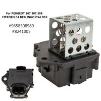 For Peugeot 207 307 308 Citroen Radiator Fan Cooling Relay Resistor 9658508980