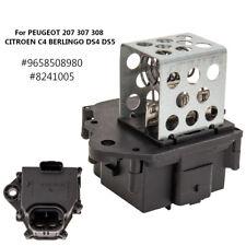 For Peugeot 207 307 308 Citroen Radiator Fan Cooling Relay Resistor 9658508980