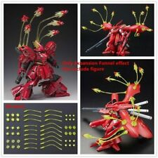 Clear Yellow Funnel Effect lots Compatible w/ MG Sazabi ver ka / RE Nightingale