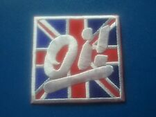 RUDE BOY SKINHEAD MOD SKA SEW / IRON ON PATCH:- OI! (a) COCKNEY SLANG SHAM 69
