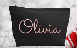 Personalised Make Up/Wash Bag Perfect Mothers Day Gift Present - Any name