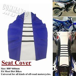 Universal Gripper Soft Motorcycle Seat Cover for Honda Yamaha Suzuki Dirt Bike