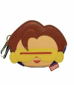 Loungefly X Marvel X-Men Cyclops Coin Bag Mini Purse Pouch AUTHENTIC Nwt NEW