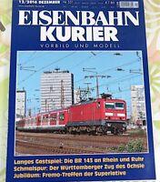 Eisenbahn Kurier - 12/2016 - Nr. 531 - #A7139