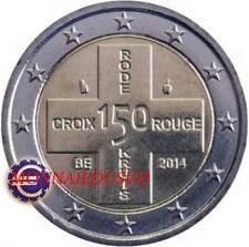 2 Euro Commémorative Belgique 2014 - 150 Ans de la Croix Rouge