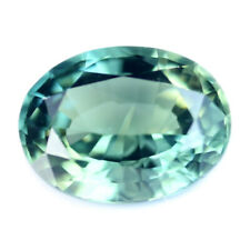 Certified Natural Teal Sapphire 0.70ct VVS Clarity Madagascar Oval5.9x4.4 mm