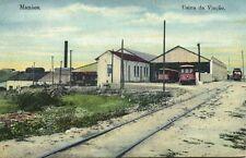brazil, MANAOS MANAUS, Usina da Viação, Trains Trams (1910s)