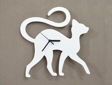 Cat Walking Silhouette - Wall Clock