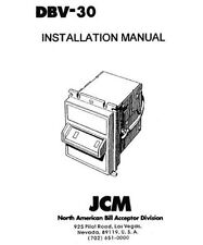 Jcm Dbv-30 Installation manual (8 Pages)