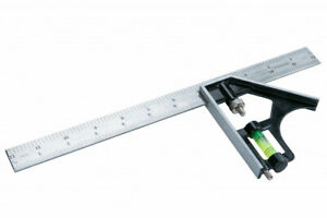 """300mm Adjustable Engineers Combination Try Square Set Right Angle Ruler 12"""""""