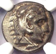Alexander the Great III AR Drachm Coin 336 BC - Certified NGC Choice XF (EF)!