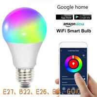Fcmila Smart Bulb Wireless WIFI APP Fernbedienung Licht für Alexa Google Home