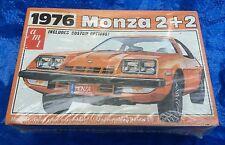 Vintage 1976 Chevrolet Monza 2+2 GT AMT T469 Chevy Model Car Kit NOS Sealed MIB