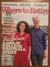 Where To Retire 8 Great College Football Cities October 2015 FREE SHIPPING!