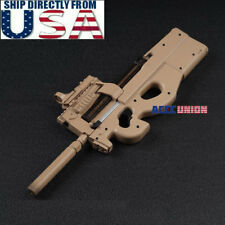 "1/6 Scale P90 Rifle Submachine Gun Toys Weapon Models For 12"" Male Figure U.S.A."