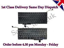 """Genuine Apple Macbook Pro 17"""" A1297 UK laptop Keyboard 2009 2010 2011 2012"""