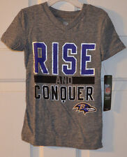 Baltimore Ravens Rise and Conquer Tee Shirt Large 6x NEW NFL