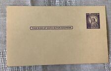 USPS 3 CENT STAMP POST CARD LIBERTY  New UNUSED