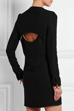 Victoria Beckham Black Cut-out Shift Night Out Dress Size US4/8UK $2295.00