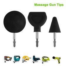 3pcs Percussion Massage Tips Head+Bit Attachment Tool For Jigsaw Massager TH1366