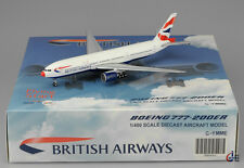 "British Airways B777-200 "" Red Nose ""  Scale 1:400 JC Wings Diecast     XX4003"