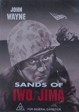 War Sands of Iwo Jima John Wayne Region 4 DVD in VGC