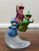 Disney Store Sofia The First PVC Flying Fairy Godmothers Figure Cake Topper